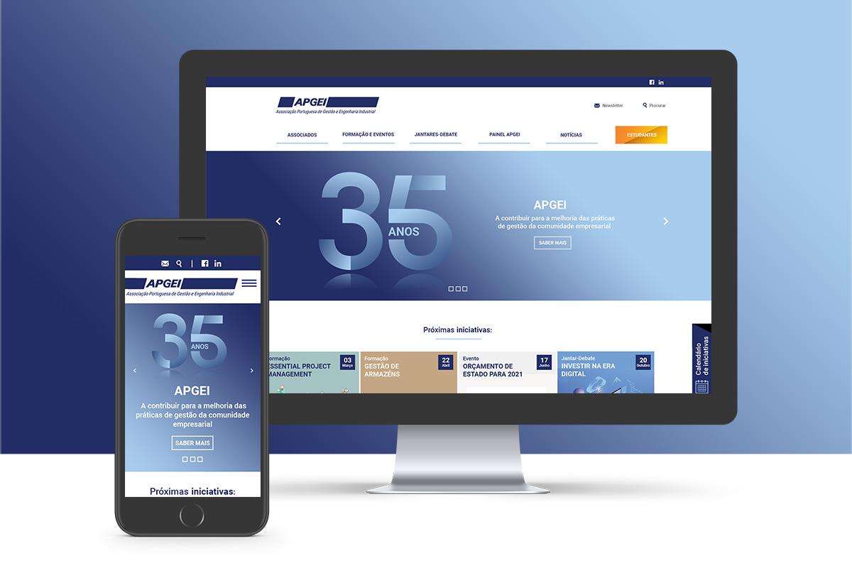 A APGEI está a desenvolver um novo website